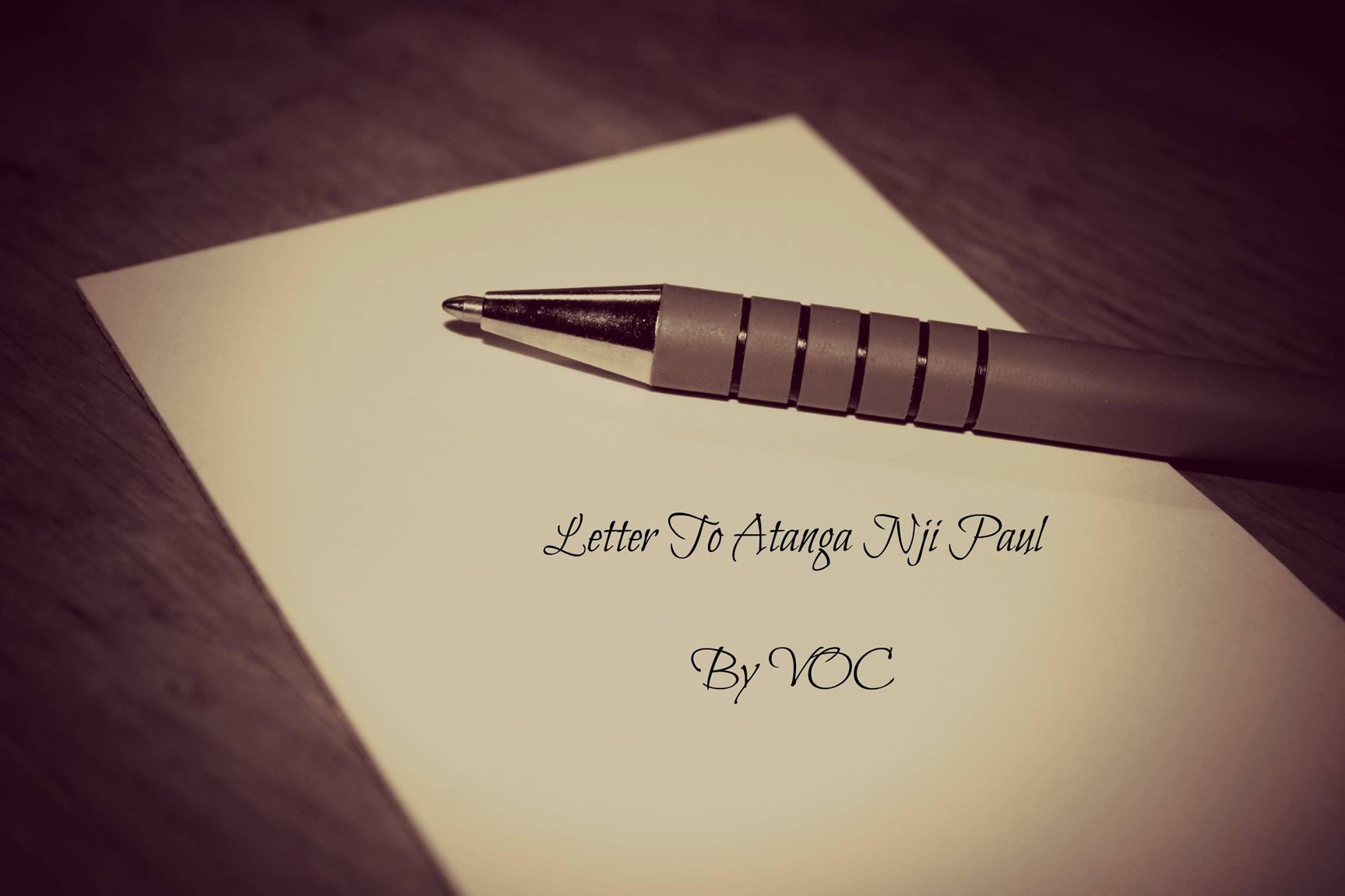 VOC A Letter To Atanga Nji Paul