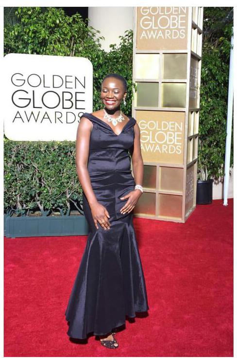 Constance Ejuma Red Carpet GOLDEN GLOBE RED CARPET MOMENT