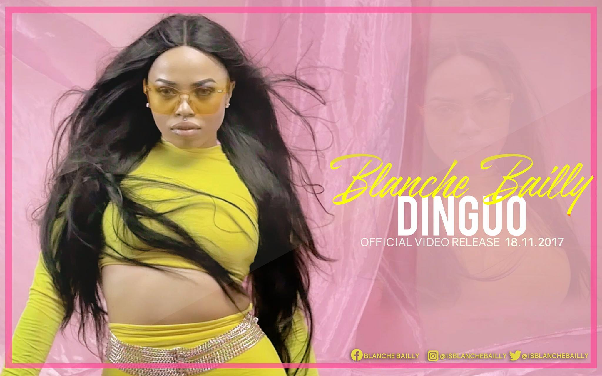 Blanche Bailly - Dinguo (Official Artwork)