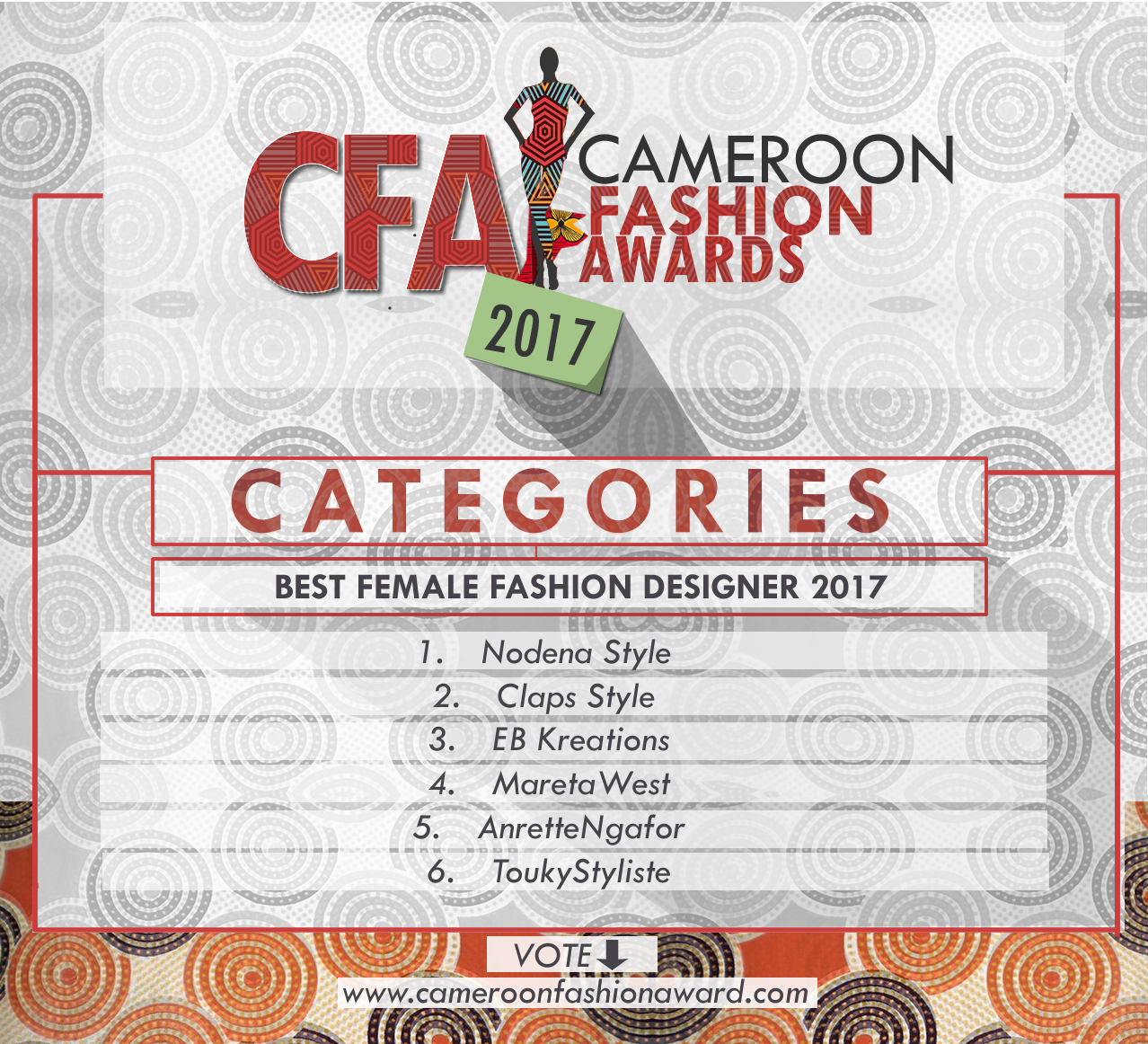 CFA best female fashion designer