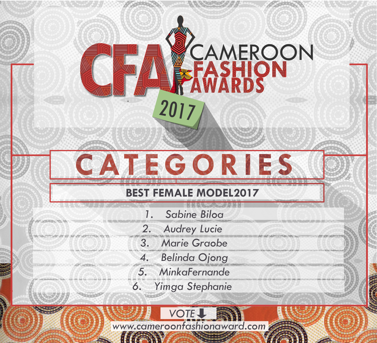 CFA best female model