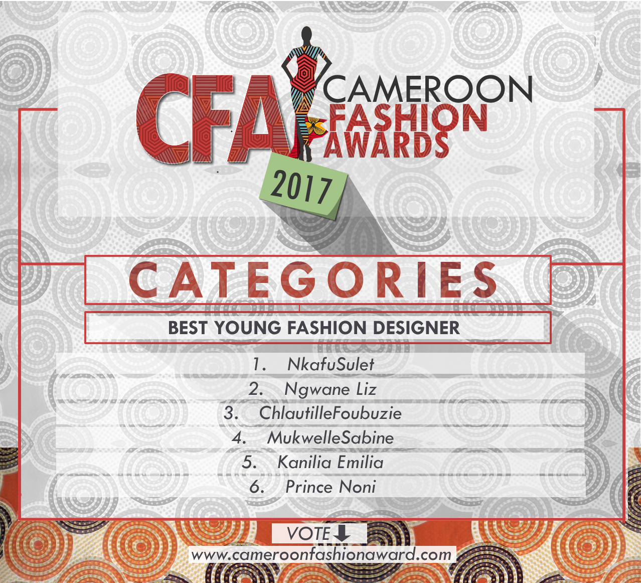 CFA Best young fashion