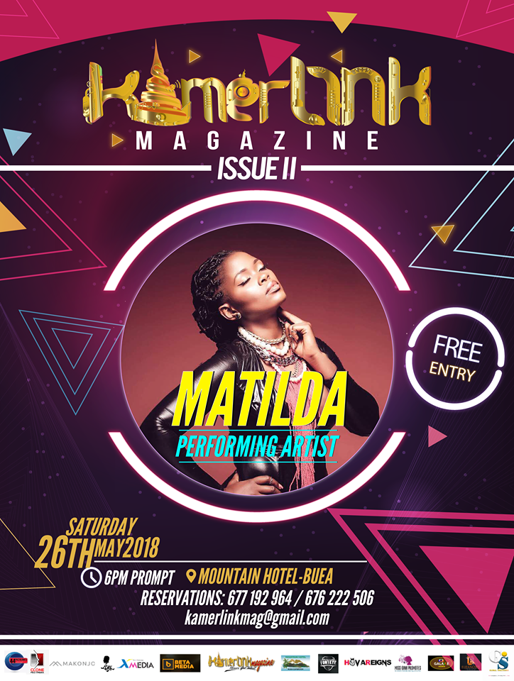 Matilda to Perform at the Second Edition of KamerLink Magazine Launch
