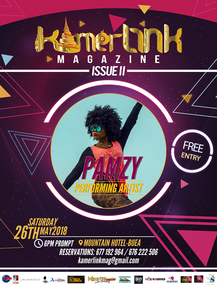 Dancer Pamzy (of KGD) to perform at the Second Edition of KamerLink Magazine Launch