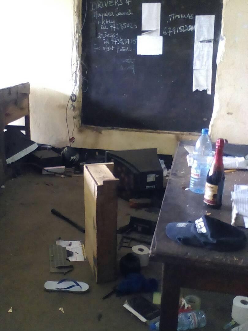 Attack at Muyuka Police stattion1