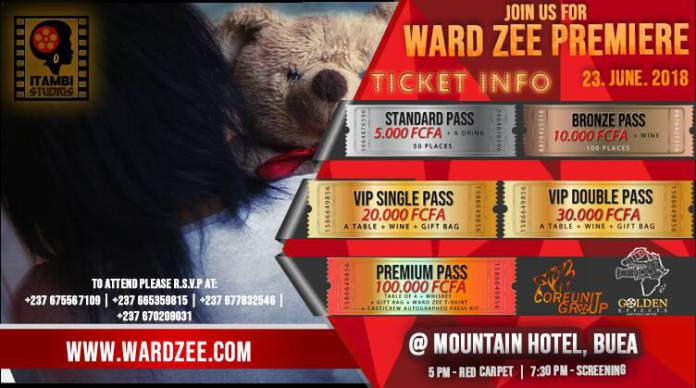 WARD ZEE MOVIE PREMIERE