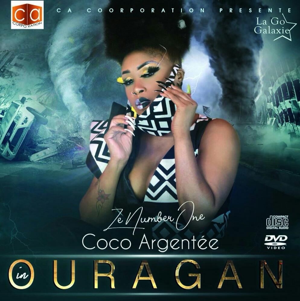 Coco Argentee Ouragan Album Artwork