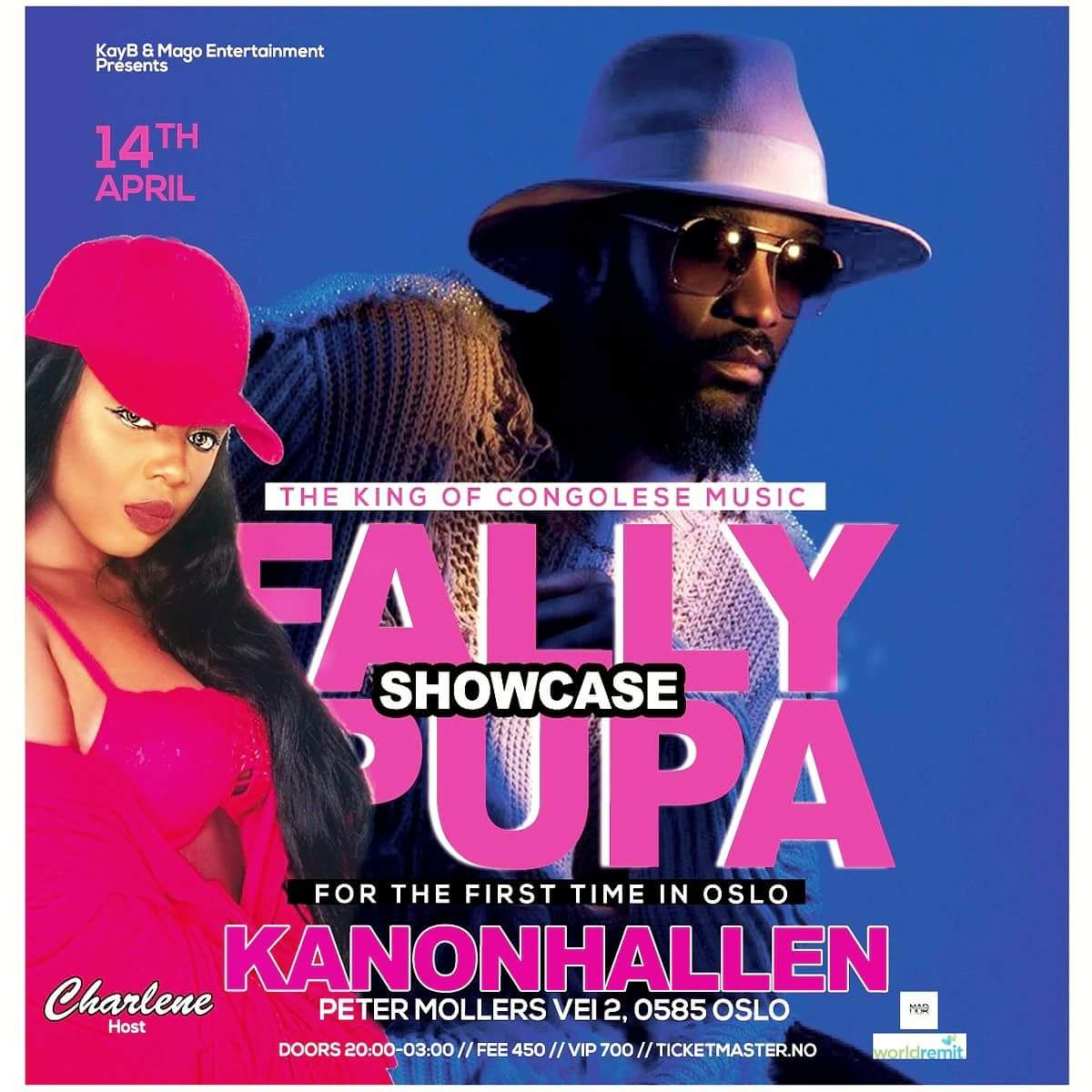 Fally Ipupa Featuring Charlene