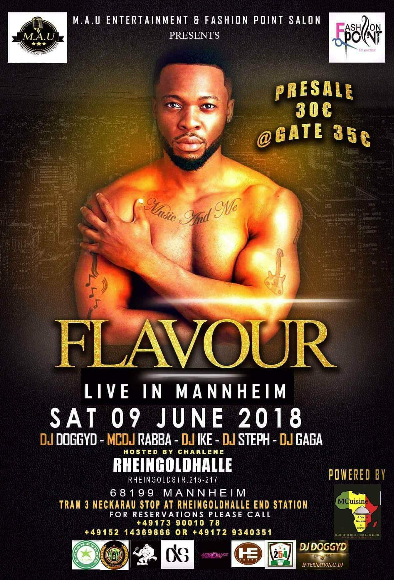 Flavour Featuring charlene