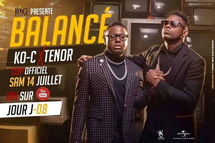 Ko-c Feat. Tenor Balance Remix Artwork