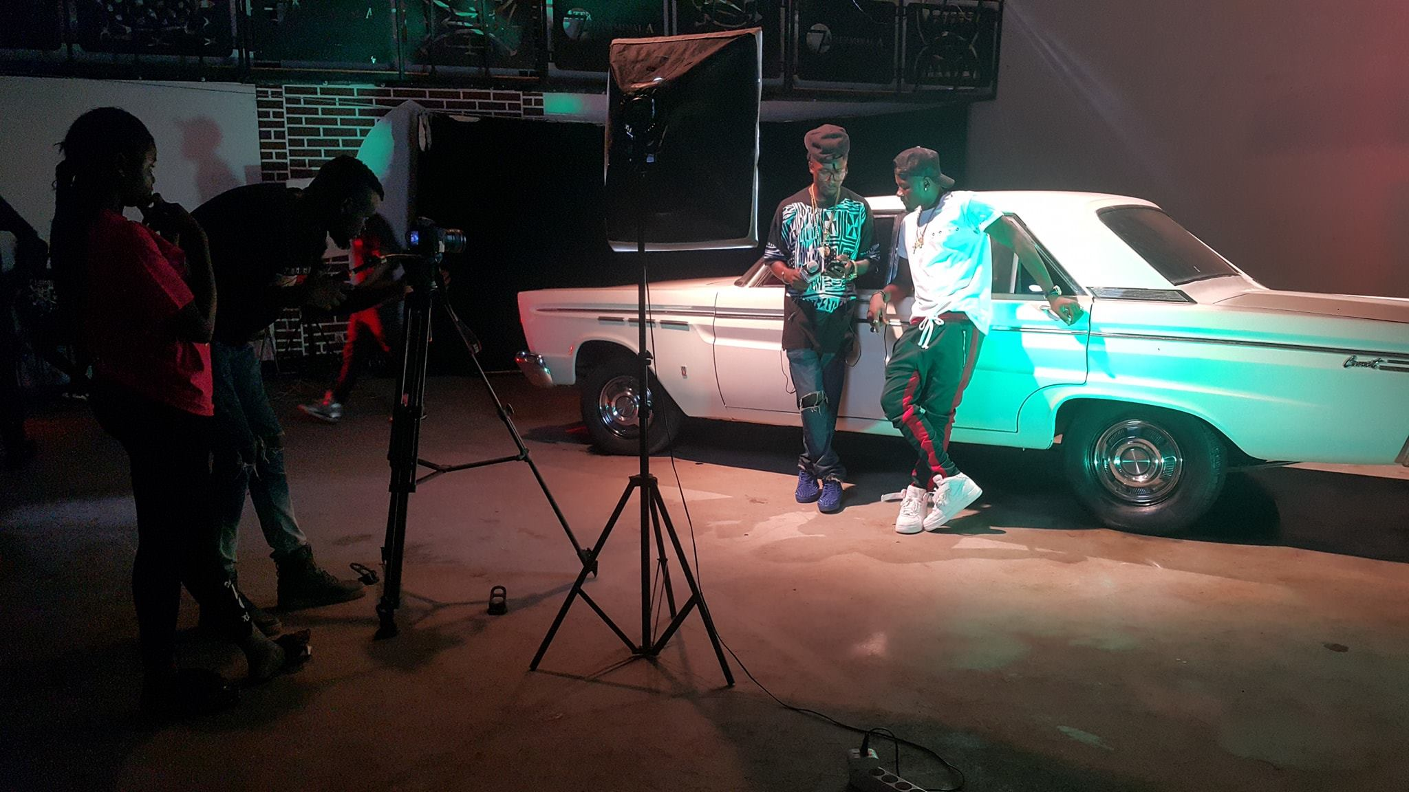Behind the Scene of Check Sense Video