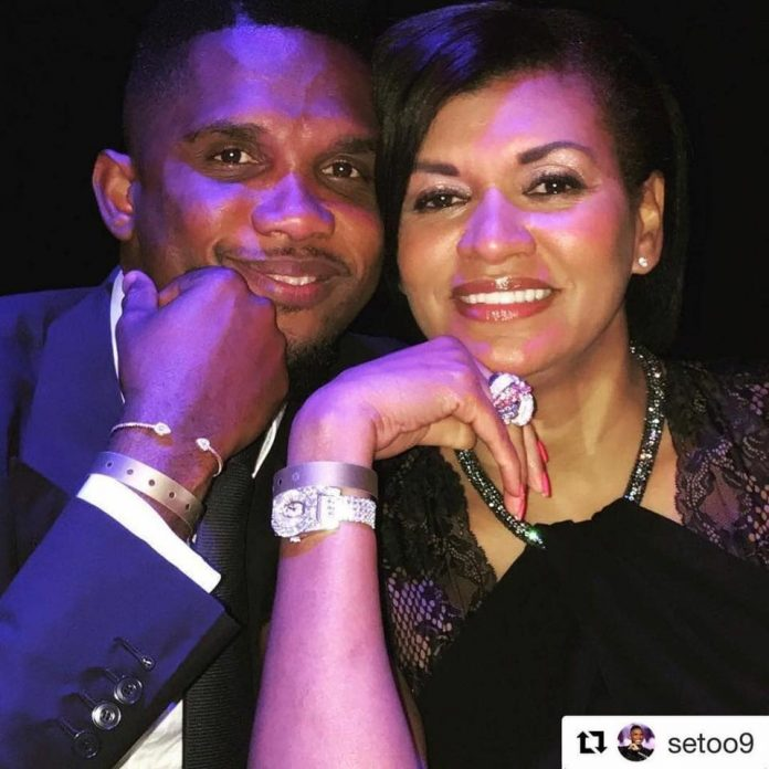 Samuel and Georgette Etoo
