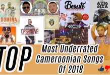 Here is Our List of Top Underrated Cameroonian songs of 2018