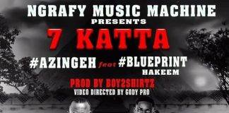 Azingeh 7 Katta feat BluePrint Harkim