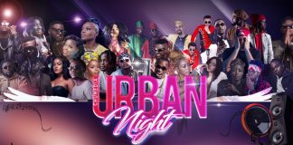 Promo Poster For Urban Night Featuring Top Cameroonian Urban Artists