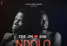 Zee JM - Ndolo Feat. Jeeno (Official Cover Art)