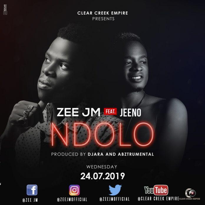 Zee JM - Ndolo Feat. Jeeno (Official Cover Art)