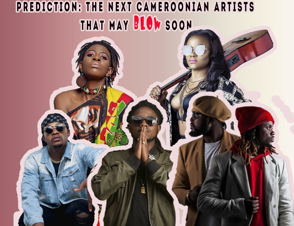 The next Cameroonian Artist to breakthrough featuring Tina - Kameni - Awu - Fhish - Rythmz -