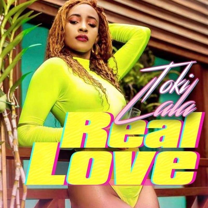 "Official Cover Art of Toki Lala's ""Real Love"""