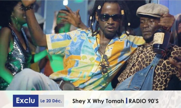 Shey Feat. Why TOmah - Radio 90's (Official Artwork)