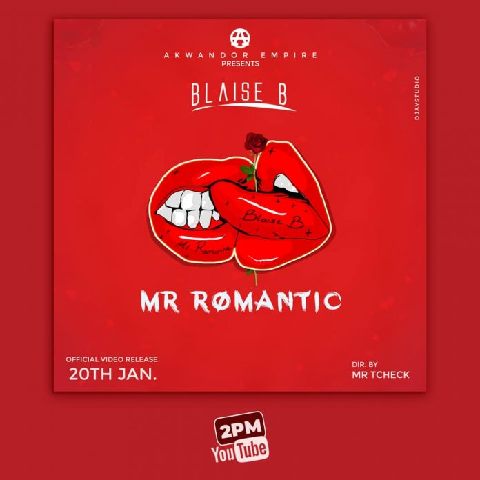 Blaise B - Mr. Romantic (Official Artwork)