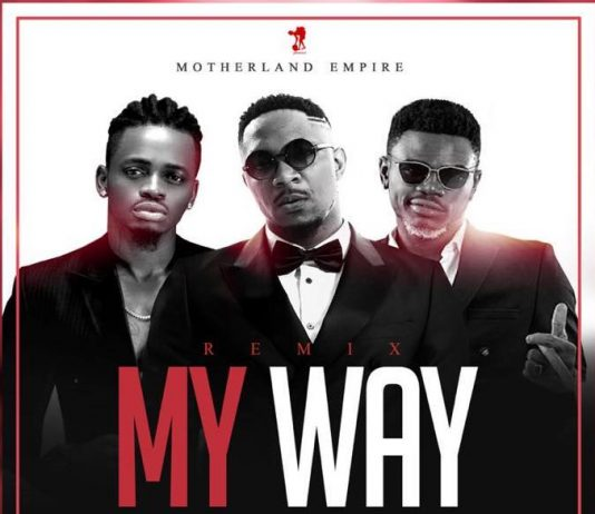 Stanley Enow - My Way Remix Feat. Ariel Sheney & Diamond Platnumz (Official artwork)