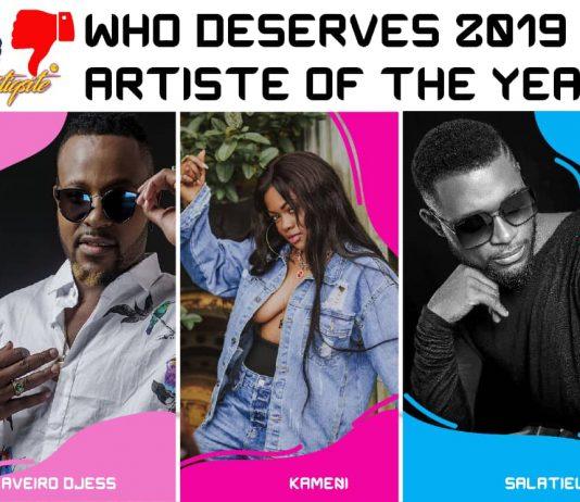 Top Cameroonian Artist 2019 (Aveiro Djess, Kameni & Salatiel)