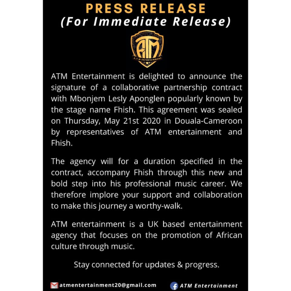 ATM Fhish Press Release