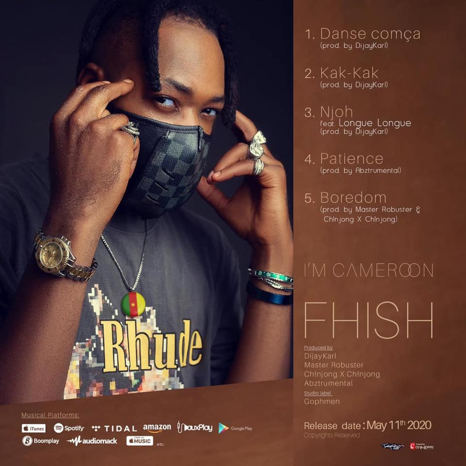 Fhish - IM CAMEROON EP (Official Tracklist Artwork)