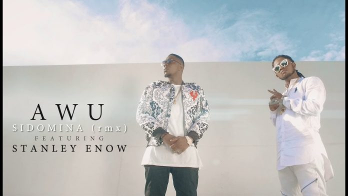Awu Feat. Stanley Enow - Sidomina Remix (Official Artwork)