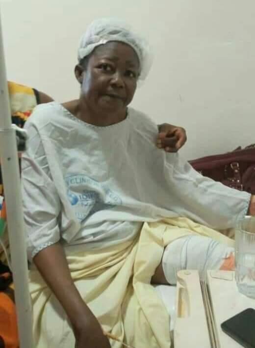 Mama Nguea Hospitalized
