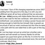 Salatiel Confirms Mr. Leo's Exit From Alphabetter Records