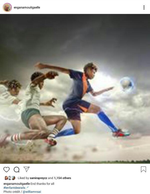 Gaelle Enganamouit - Footballer