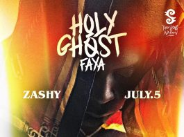 """Holy Ghost Faya"" by Zashy"