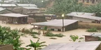 Flood This Morning In Cameroon's Economic Capital Douala