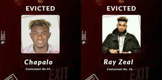 Evicted from Biggy 237- Chapalo x Ray Zeal x Fotso Brany x Melanie Birmo