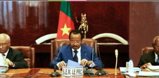 H.E Mr Paul Biya