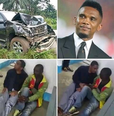 Samuel Eto'o car's accident