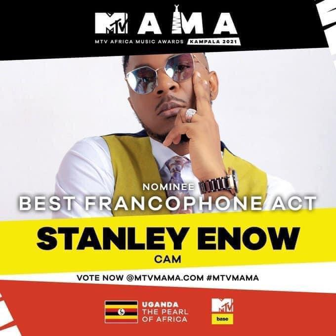 Stanley Enow Best Francophone Mama 2020