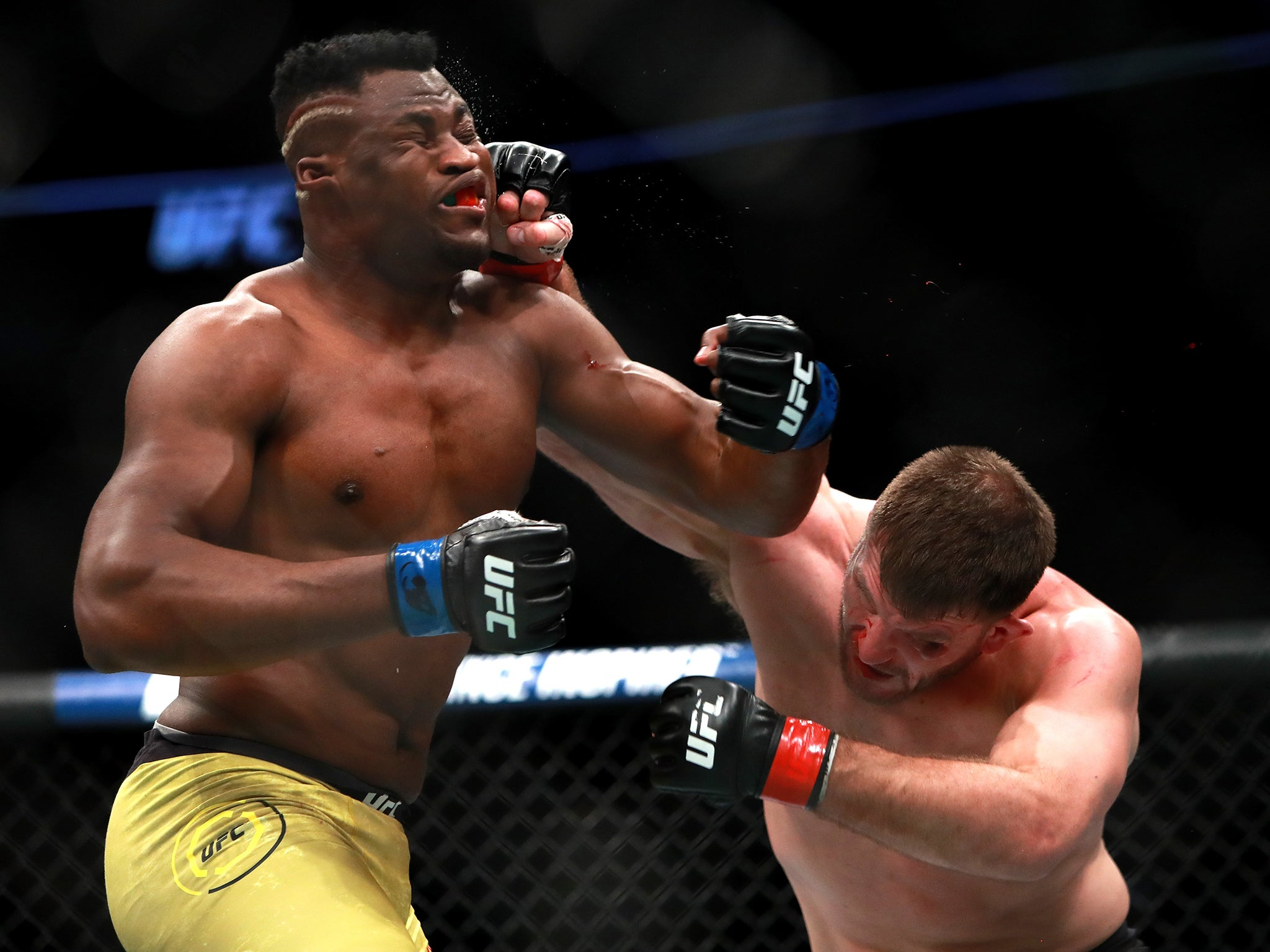 Francis Ngannou Suffered Defeat From Miocic in 2018