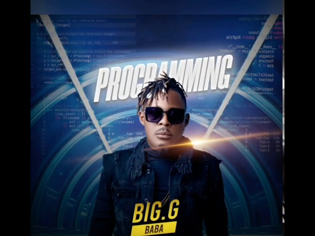"""10 Best Albums by Cameroonian artists of 2020. Cover Art of """"Programming""""-the Album by Big G Baba"""