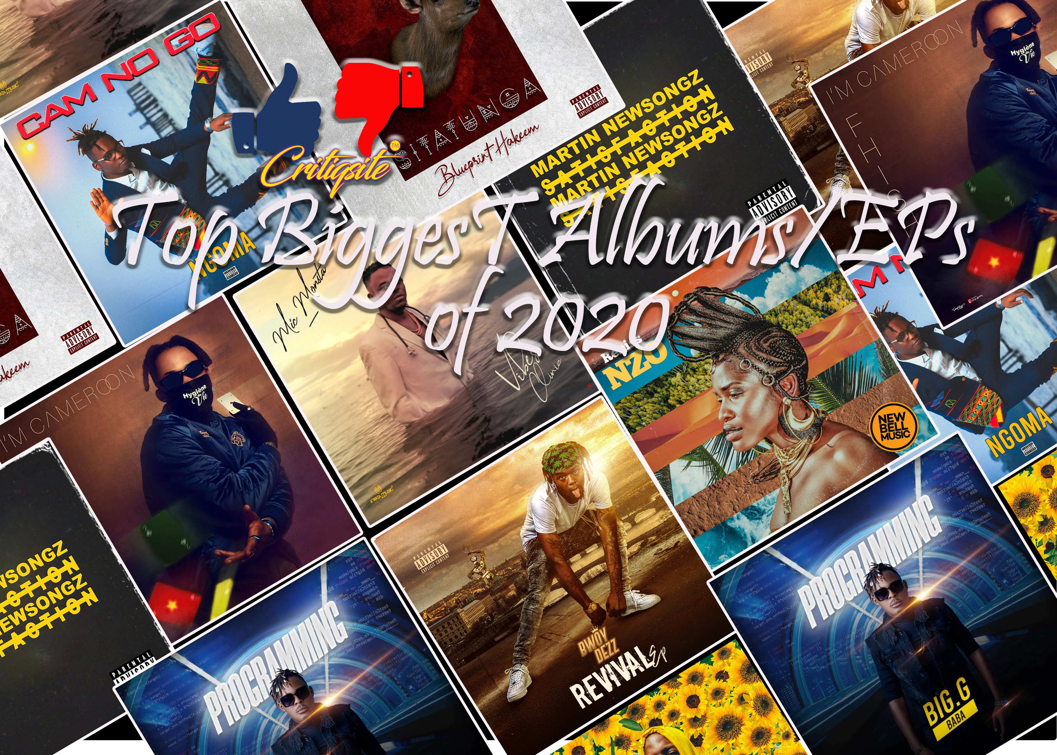 The Biggest Albums/Eps of 2020 from Cameroon