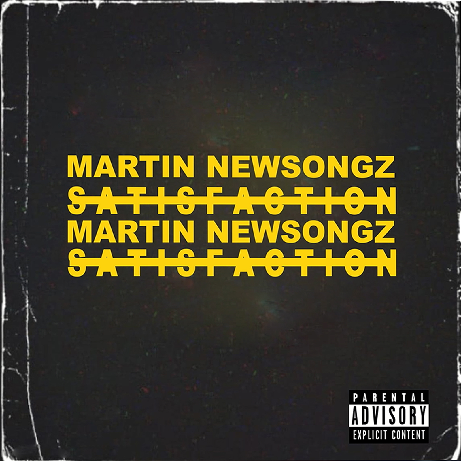"""Cover Art of """"Satisfaction"""" by Martin Newsongz"""