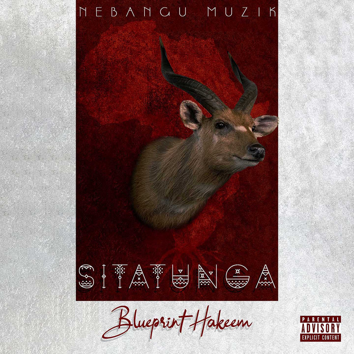 10 Best Albums by Cameroonian artists of 2020. Cover art of Sitatunga-the Album by Bleuprint Hakeem