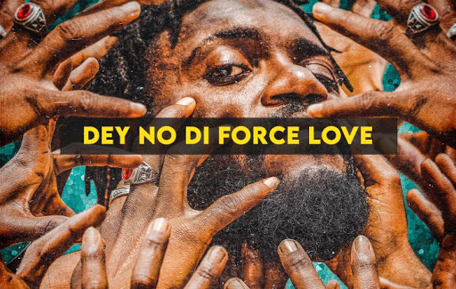 """10 Best Albums by Cameroonian artists of 2020. Cover Art for """"DEY NO DI FORCE LOVE"""" by TATA."""