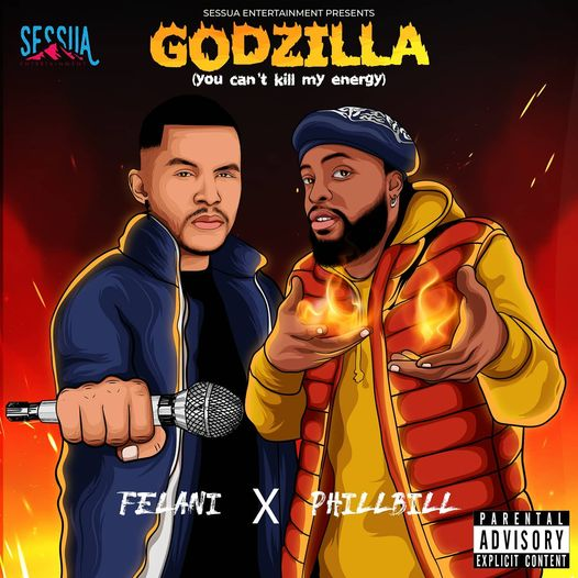 Felani ft Phillbill - Godzilla