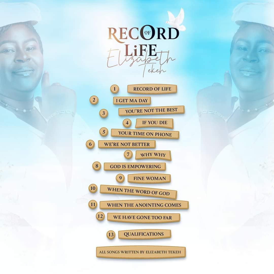 "13 tracks 5th Album ""Record of LIFE"""